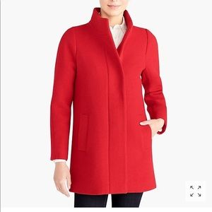 NWOT Red wool coat